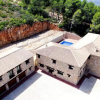 Luxury rural Stone Villa, Hotel, B&B, rural retreat in Lliber