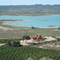 Unique 4 Bed Country house facing the Lake of Pedrera, Torremendo