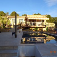 Detached Villa with pool, separate Guest house in Xirles, Polop de la Marina